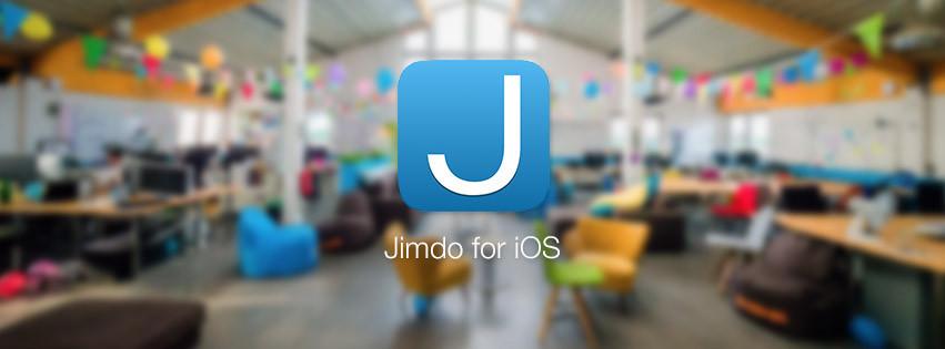 Jimdo for iOS in Hamburg office.