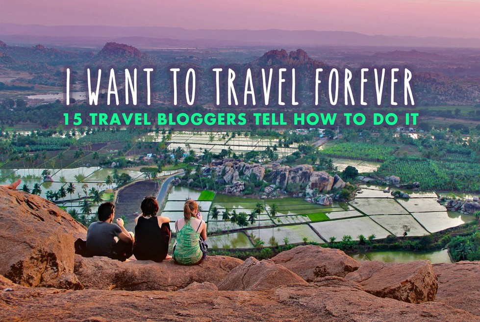 Travel blogging