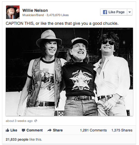 Neil Young, Willie Nelson, and Steve Miller