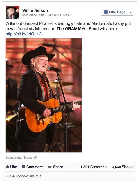 Willie Nelson: The most stylish man at The Grammys