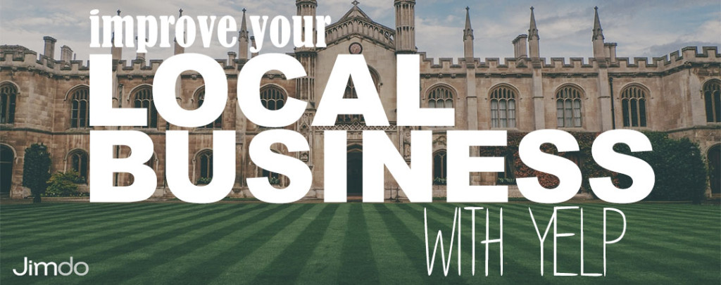 Improve your local business with yelp