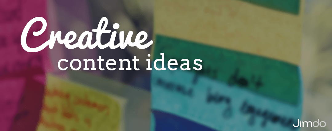 Creative content ideas