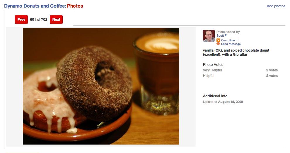 Dyanamo donuts in SF