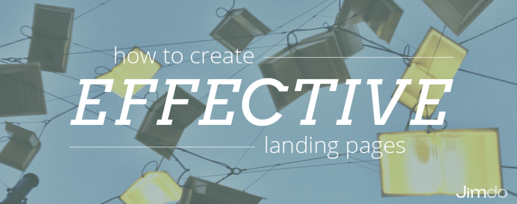 how to create successful landing pages
