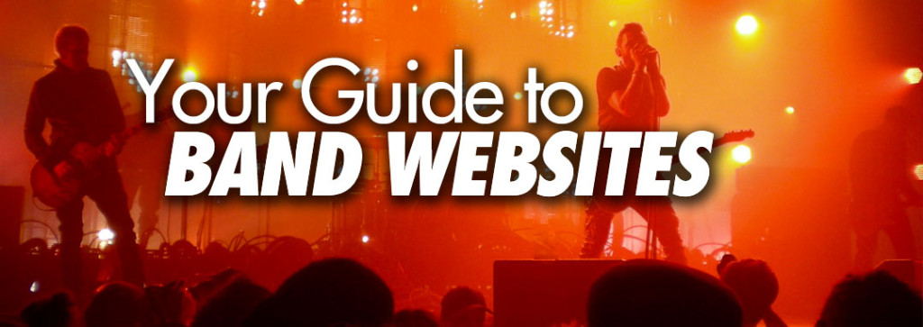 Your guide to band websites