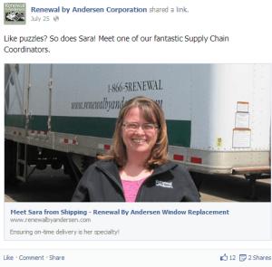 Andersen customer service