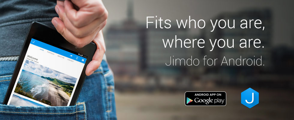 Jimdo for Android