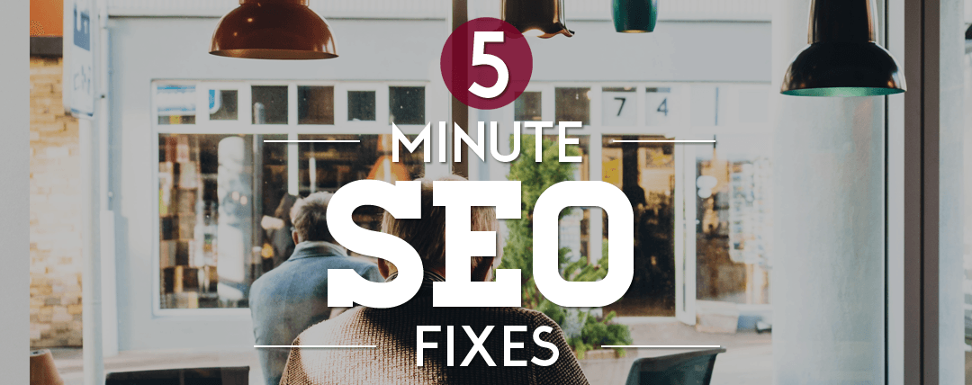on-page SEO in five minutes