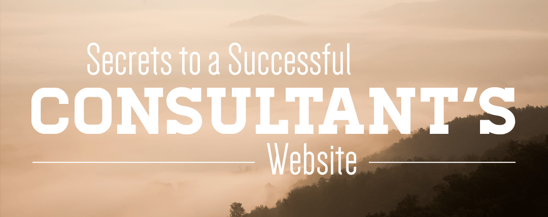 Secrets to a Successful Consultant's Website
