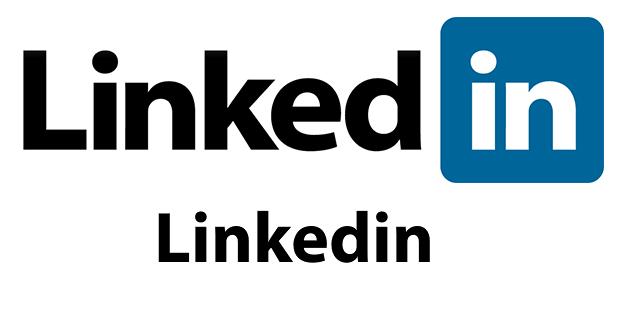 LinkedIn uses font Myriad Pro in its logo