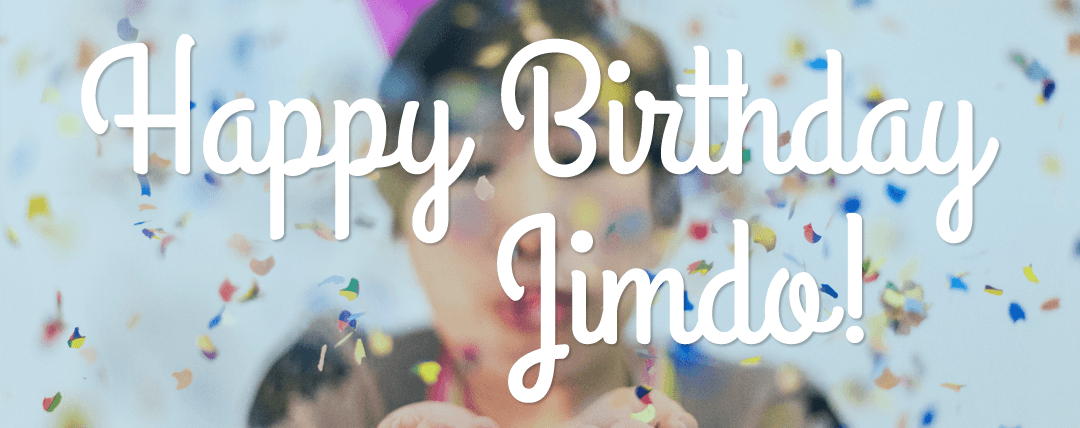 Happy Birthday Jimdo