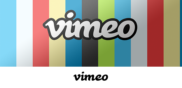 Vimeo uses the font Black Rose in its logo