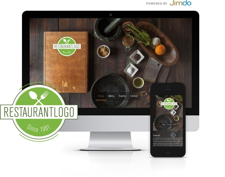 99designs Jimdo Logo Website Package