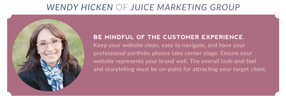 "Wendy Hicken of Juice Marketing: ""Be Mindful of the Customer Experience."""