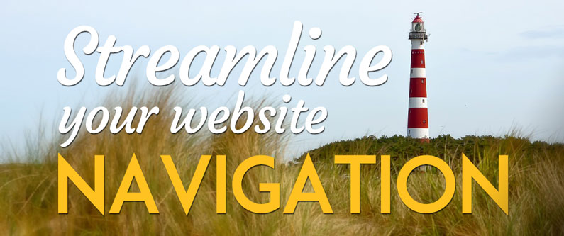Streamline your website navigation