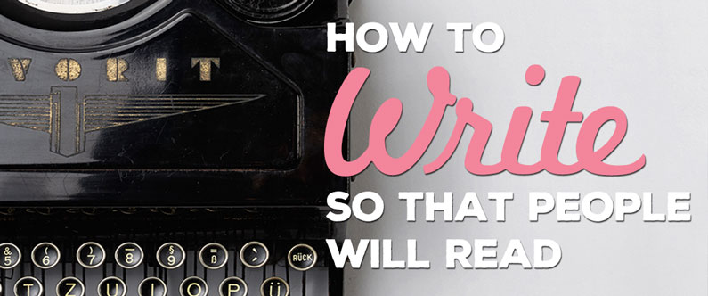 How to write so that people will read your website