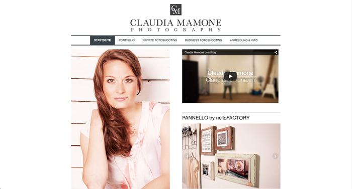 Claudia Mamone's website