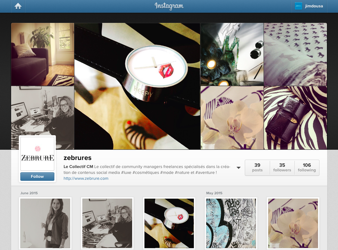 Instagram is a visual platform for promoting your business and website