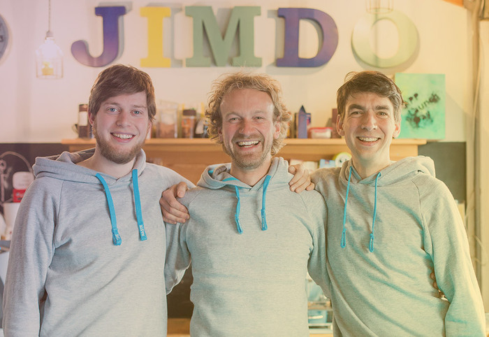 Jimdo's founders
