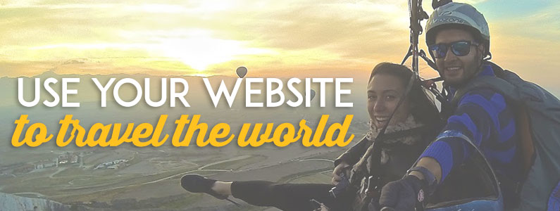 Use your website to travel the world