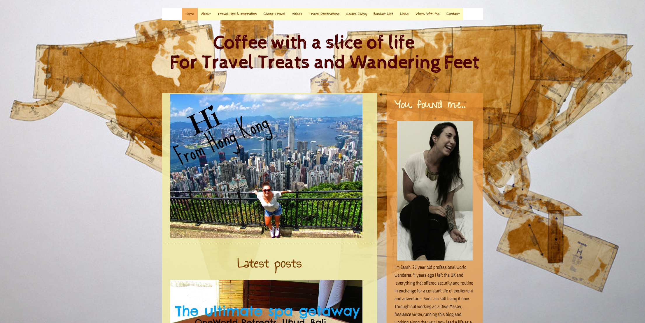This is an example of a Jimdo website that uses the San Francisco template.