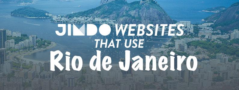10 Jimdo websites that use the Rio de Janeiro template
