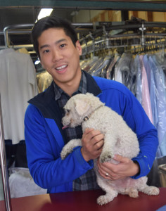 Mo Nguyen of Aristic Dry Cleaners