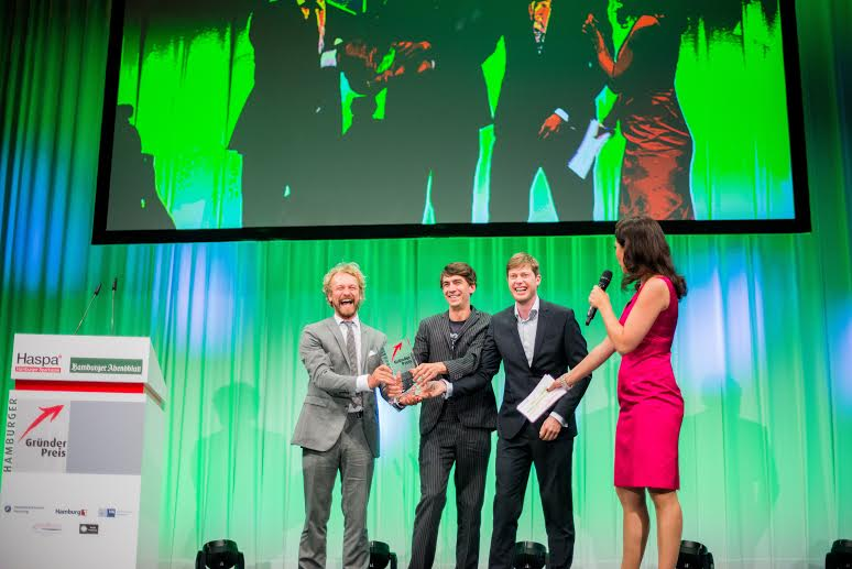 This is the founders receiving the award.