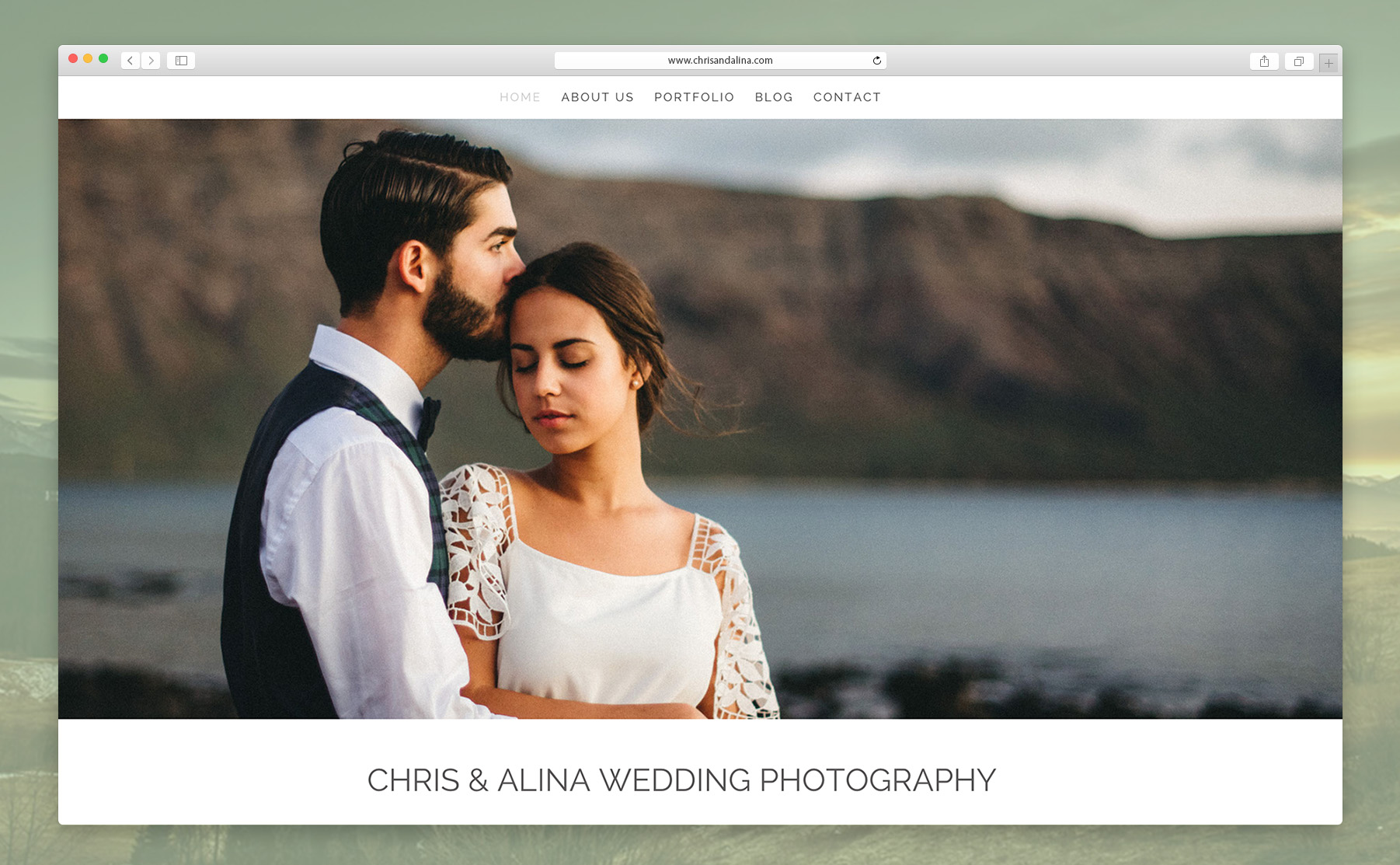 This is Chris and Alina's website.