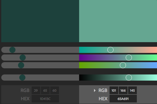 Get RGB and Hex Code