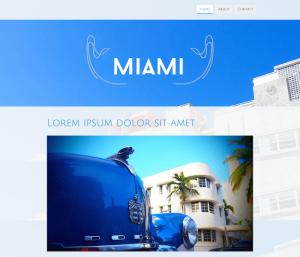 Miami Template